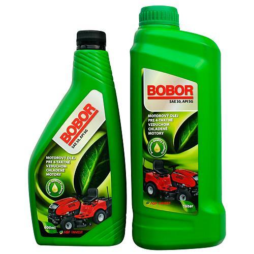 Olej Bobor Garden 4T, 1000 ml, SAE30 API SG (náhrada 1110188)