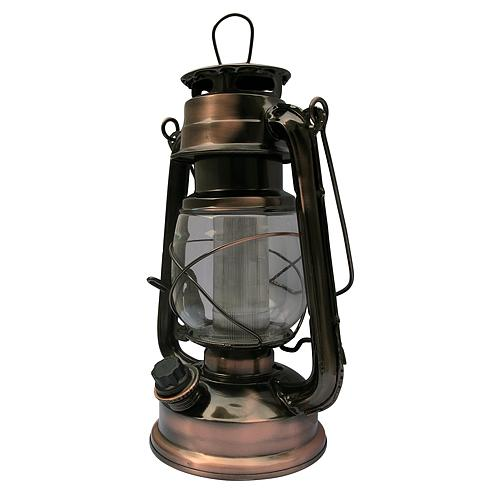 Lampas Nicehome ML3525, 16 LED, 15x11,5x23,5 cm, 2xD, kov, medený