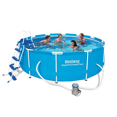Bazen Bestway® 56418, 3,66x1,00 m, filter, pumpa, rebrík