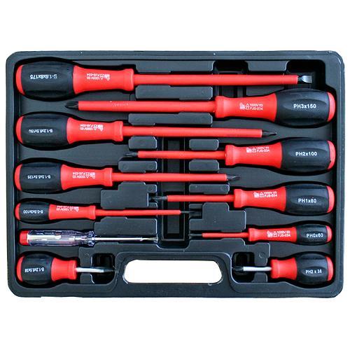 Sada skrutkovačov Strend Pro SD0102, 11 dielna, 1000 V, elektrikárska