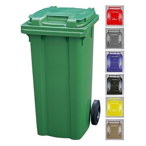 Nadoba MGB 120 lit, plast, žltá 1018, HDPE, na odpad