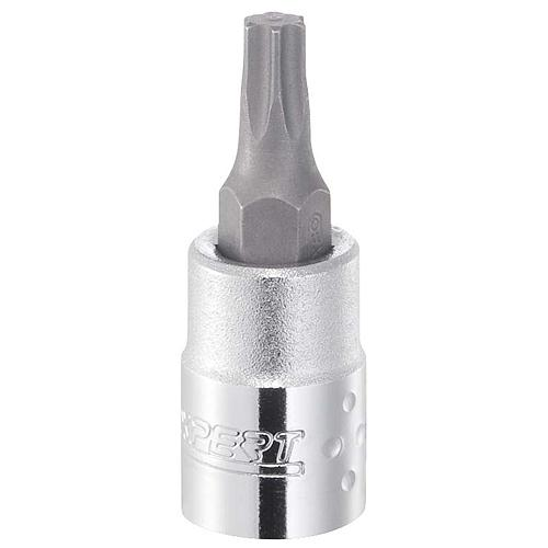 "Hlavica Expert E030121, T09 mm, TORX, zástrčná, 1/4"""