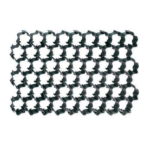 Tvarnica zatrávňovacia čierna, 590x395x30 mm, 4 ks, 0.93 m2