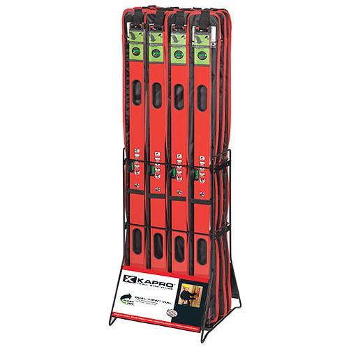 Stojan KAPRO® 781-990-905, na vodováhy, 12 ks, kovový