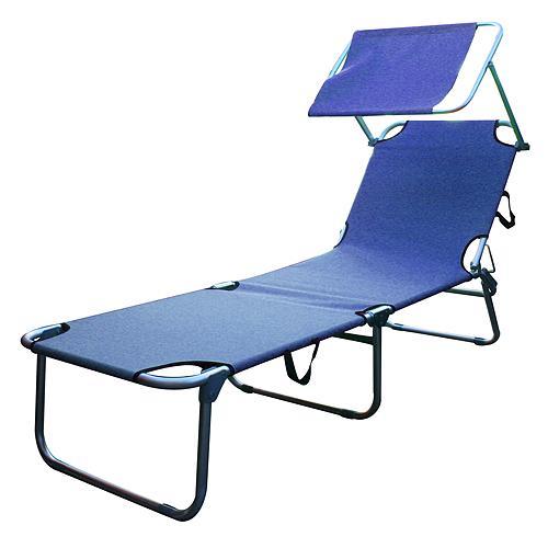 Lehatko BELIZE, 188x56x33 cm, modré