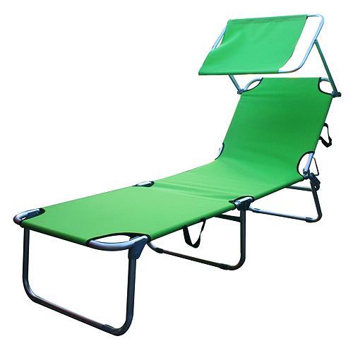 Lehatko BELIZE, 188x56x33 cm, zelené