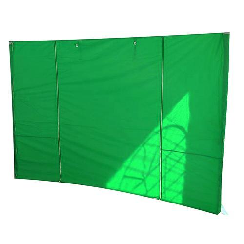 Stena MONTGOMERY, 300x300 cm, zelená, pre stan