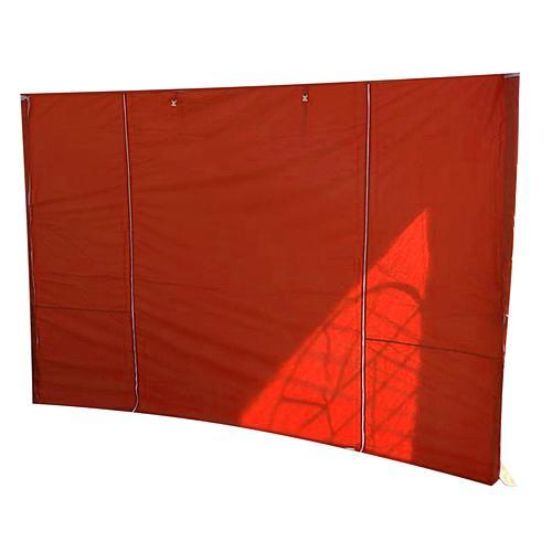 Stena MONTGOMERY, 300x300 cm, červená, pre stan