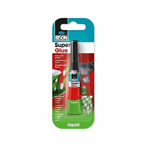 Lepidlo Bison Super Glue Liquid, 3 g