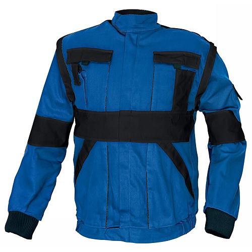 Bunda MAX, modrá/čierna 54, pracovná
