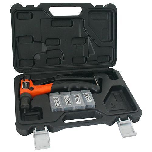 Klieste Strend Pro BT-603, 200 mm, nitovacie, pre matice, v kufri