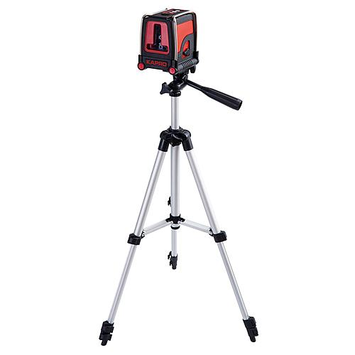 Laser KAPRO® 872S Prolaser® Plus, krížový, RedBedam, so statívom