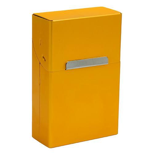 Krabicka Cigarilo, na cigarety, zlatá