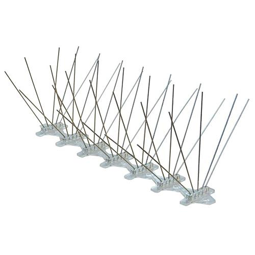 Zabrana Pecon SPIKE-54-3, 45 hrotov, L-60 cm, PC UV, proti vtákom