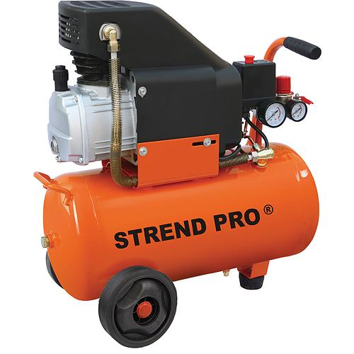 Kompresor STREND PRO AC02-50, 1.8kW, 50 lit, 116 psi, 1 piestový