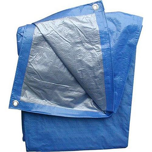 Plachta Tarpaulin Profi 08,0x12,0 m, 140 g/m, prekrývacia, modrá