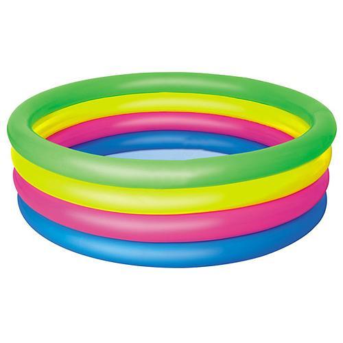 Bazenik Bestway® 51117, Rainbow, detský, 157x46 cm, nafukovací, dúhový