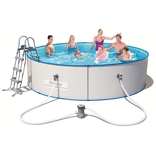 Bazen Bestway® 56377, 3,60x0,90 m, filter, pumpa, rebrík, DVD