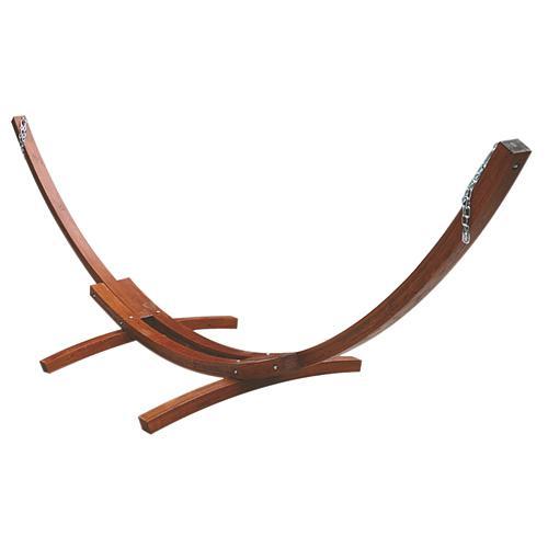 Stojan LEQ TARAS, na hojdaciu sieť, drevo, max. 200 kg, 410x120x130 cm