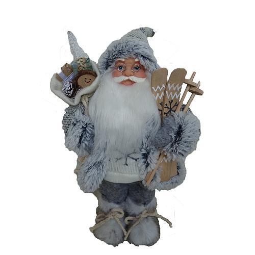 Santa stojaci, 30 cm, šedý