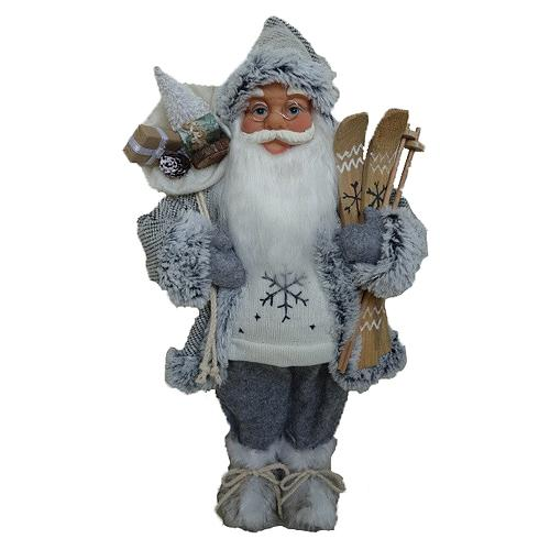 Santa stojaci, 45 cm, šedý