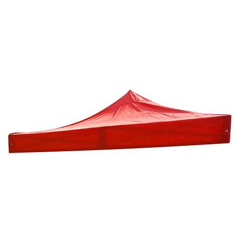 Platno MONTGOMERY, červené, na strechu