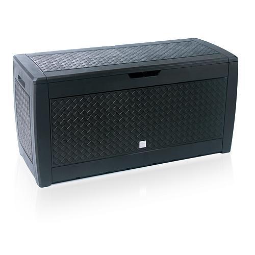 Box MATUBA, 1190x480x600 mm, antracit, úložná
