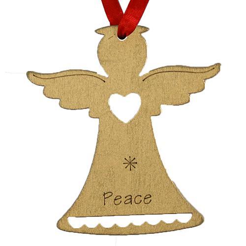 Ozdoba MagicHome XO195C, Anjel PEACE, zlatý, bal. 5 ks
