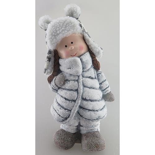 Postavicka Stojace dievča, terakota, 26.5 cm