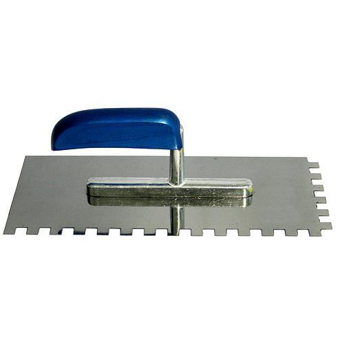 Hladitko InoX 280x130 mm, e10, modrá rúčka