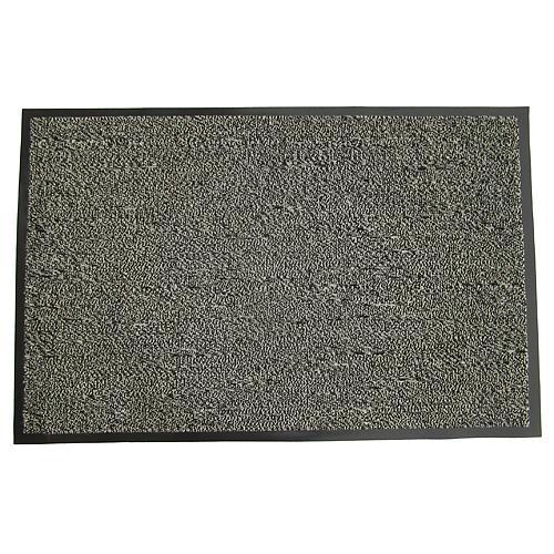 Rohozka MagicHome CPM 302, 60x90 cm, čierna/sivá