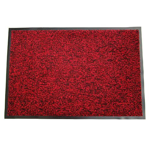 Rohozka MagicHome CPM 303, 40x60 cm, čierna/červená