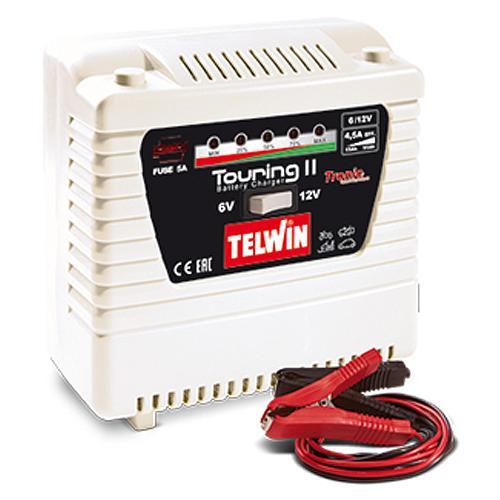 Nabijacka Telwin Touring 11, 6-12V, Tronic, Pb-Ca, Wet, Gel, AGM, EFB, MF