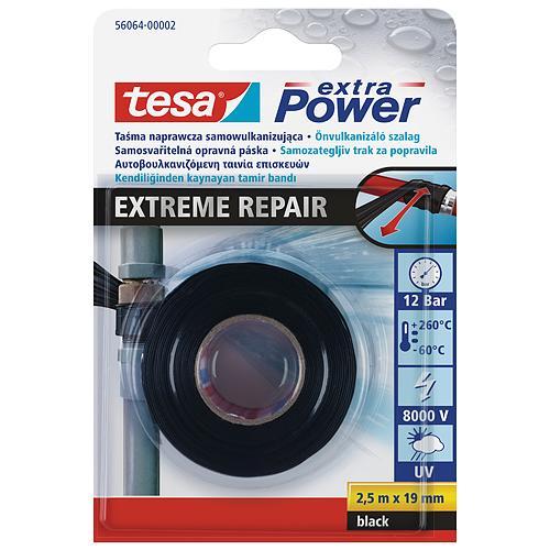 Paska tesa® Extreme Repair, samovulkanizačná, 19 mm, L-2.5 m