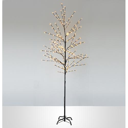 Strom MagicHome Cherry Tree, 150 cm, čierny, 230 V, IP44