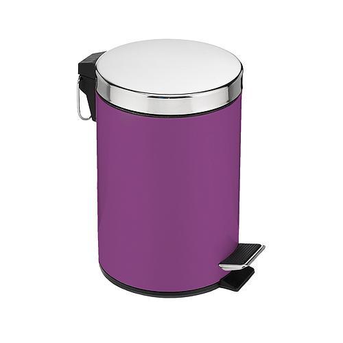 Kos Easyhome SB-431, 05 lit, purpurový, s pedálom, na odpad