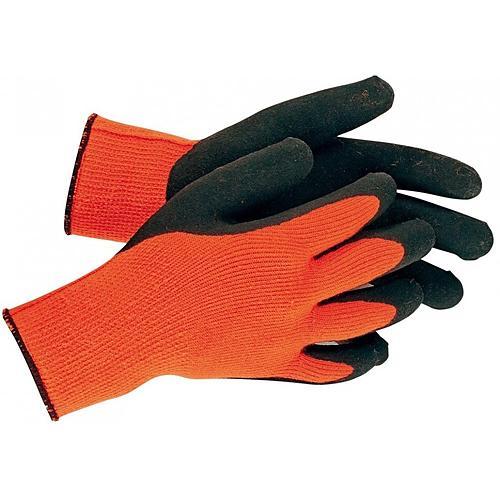 Rukavice PALAWAN Winter Orange 09, nylon, Latex