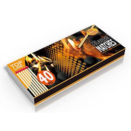 Zapalky Top Line BBQ, 170 mm, krbové, 40 ks
