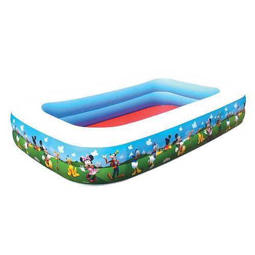 Bazenik Bestway® 91008, Mickey Mouse, detský, 262x175x51 cm, nafukovací
