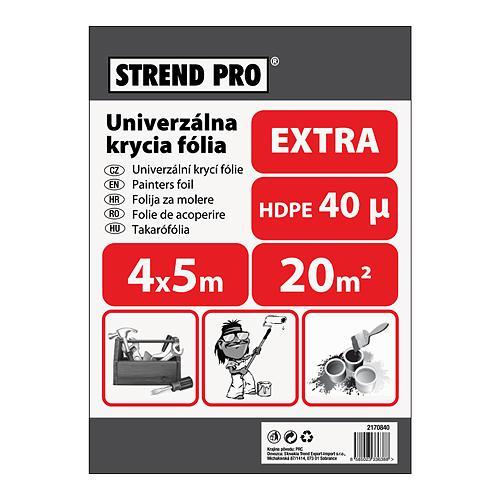 Folia Strend Pro maliarska, Extra 4x05,0 m, 40µ, zakrývacia