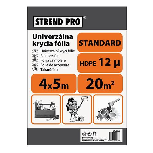 Folia Strend Pro maliarska, Standard 4x05,0 m, 12µ, zakrývacia