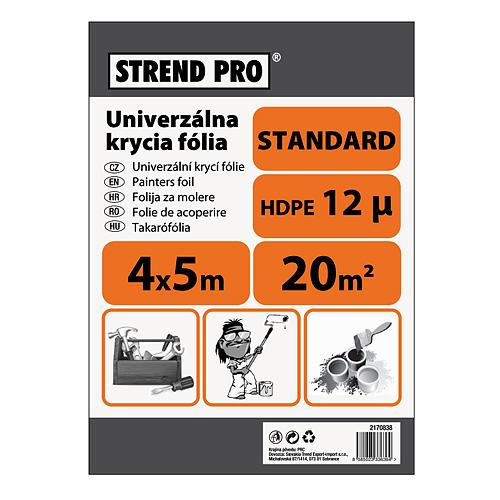 Folia Strend Pro maliarska, Standard 4x12,5 m, 12µ, zakrývacia