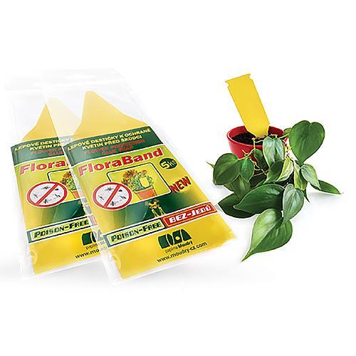 FloraBand, lepové šipky na ochranu rastlín pred škodcami, Poison-Free