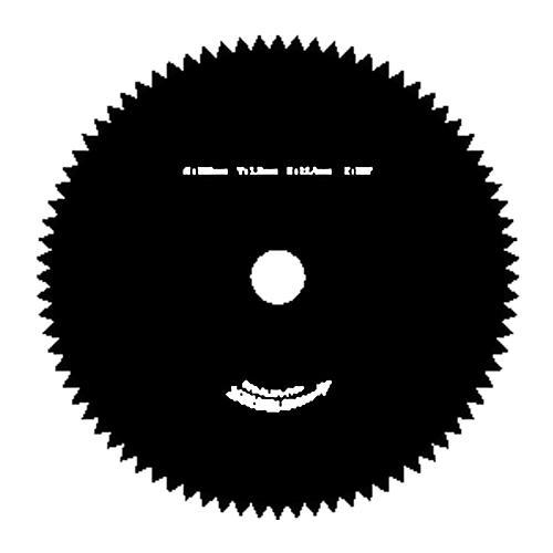 Noz TT-BC415/520, 80 zubý, 255x1,6 mm, náhradný