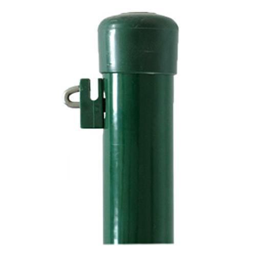 Stlpik METALTEC BPL 48/2500 mm, zelený, Zn+PVC, čiapočka - dopredaj