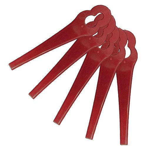 Sada náhradných plastových nožov Worcraft CGT-S20Li, bal. 20 ks, k vyžínaču
