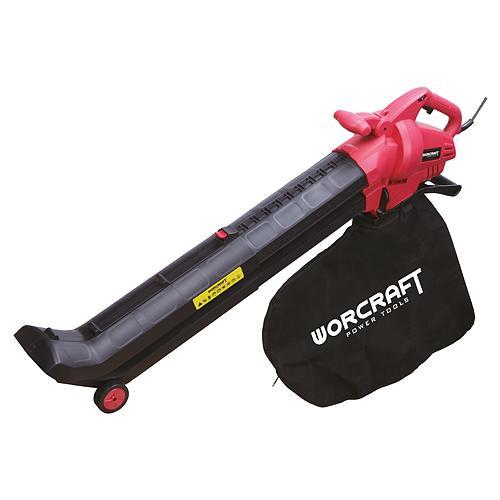 Fukar Worcraft VB30-45, 45 lit, 3000W, + vysávač lístia 2in1