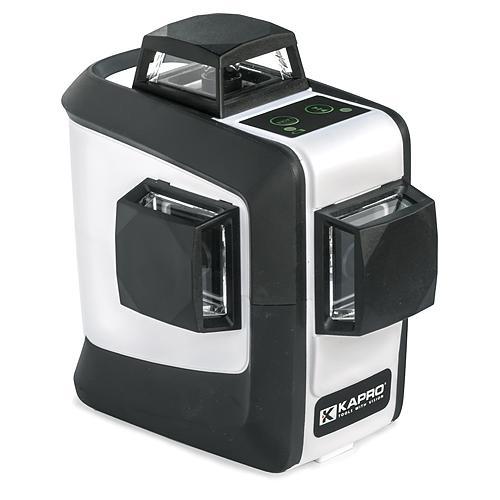 Laser KAPRO® 883G Prolaser®, 3D All-Lines, GreenBeam, v kufri