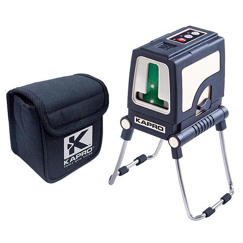 Laser KAPRO® 872GS Prolaser® Plus, krížový, GreenBeam, so statívom