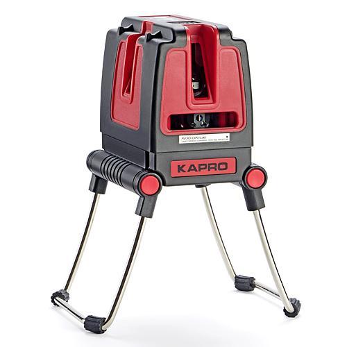 Laser KAPRO® 873S Prolaser® Vector, krížový + bočný, RedBeam, so statívom